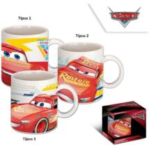 Disney Cars, Verdák Porcelán Bögre (325ml)
