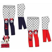 Leggings 3-8 év Disney Minnie kék