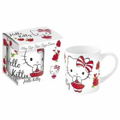 Bögre Porcelán 236 ml Hello Kitty