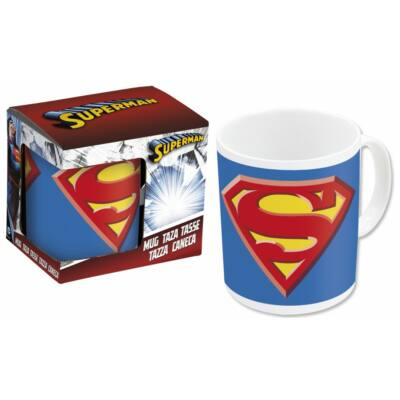 Bögre Porcelán 325 ml Superman