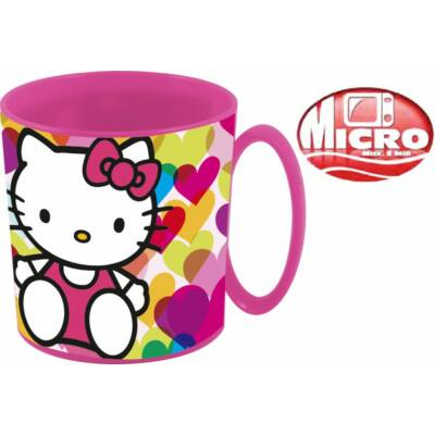 Bögre műanyag 350 ml Hello Kitty